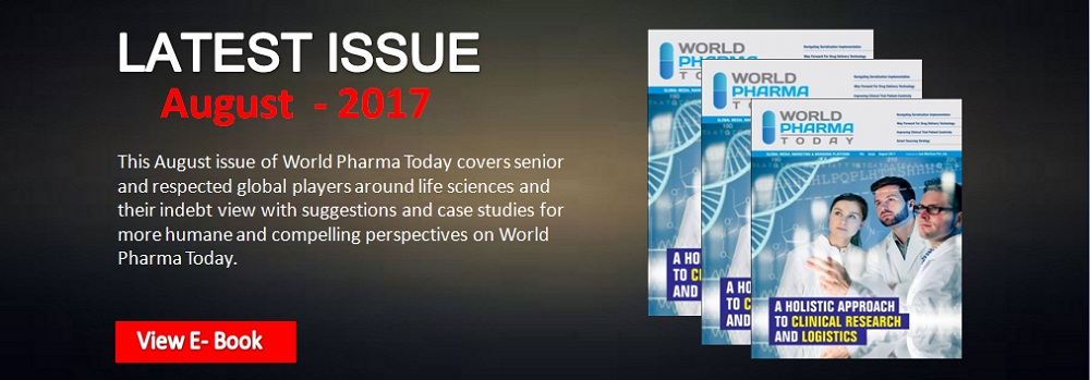 World Pharma Today latest Issue Augest 2017