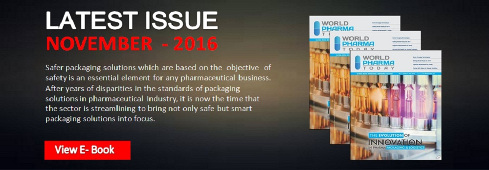 World Pharma Today latest Issue Nov 2016