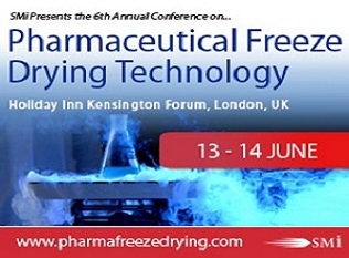 Introducing SMi's 6thannual conference on Pharmaceutical Freeze Drying Technologythis June 2018