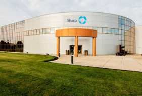Sharp completes first phase