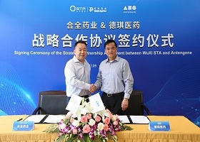 WuXi STA and Antengene Sign Dev nd Manufacturing Agreement