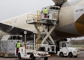 Etihad SPRINTs to cargo technology platform