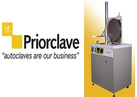 Priorclave Top Loading Autoclaves for Labs on a Budget