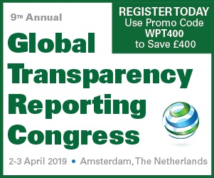 9th Annual Global Transparency Reporting Congress Home