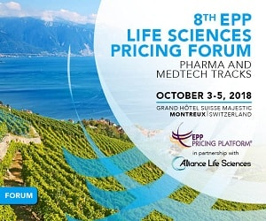 EPP Life Sciences Pricing Forum 2018