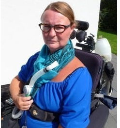 Maryze Schoneveld van der Linde, patient living with Pompe Disease