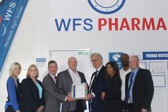 WFS awarded GDP certifications for Johannesburg and Cape Town pharma facilities