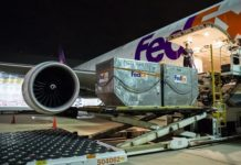 FedEx Assists Aid Organization Direct Relief to Transport its First Batch of Medical Supplies to Guangzhou, China