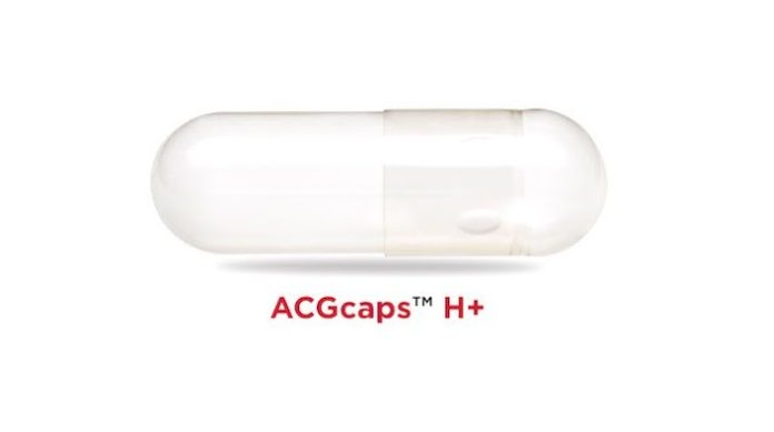 ACG receives certification for its 'Clean Label' capsules