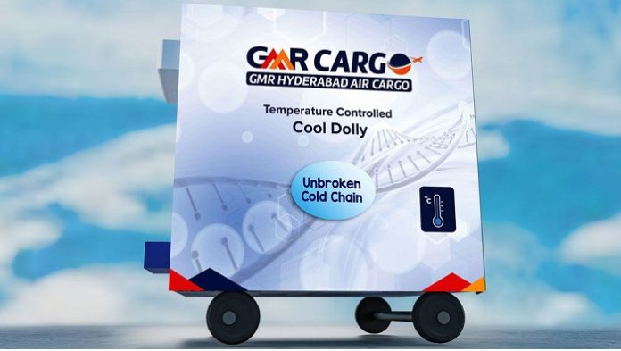 Hyderabad Airport enhances cold chain with mutli-ULD cool dolly