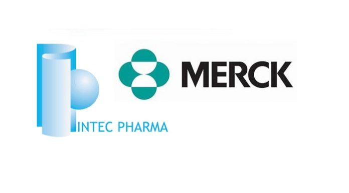 Intec Pharma Announces New Research Collaboration Agreement with MSD