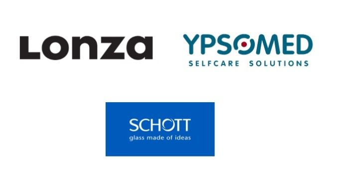 Ypsomed collaborates with SCHOTT and Lonza to develop a comprehensive solution for combination products based on patch injectors