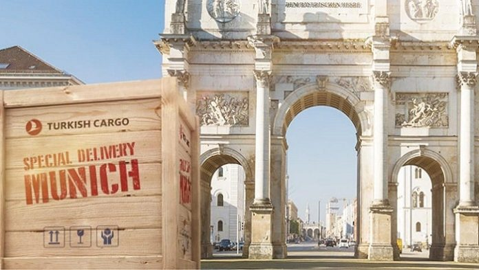Turkish Cargo adds Munich, the technological metropolis of Germany to its expanding cargo flight network