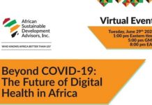 Andaman7 delivers step change strategy to global debate on digital health opportunities for Africa