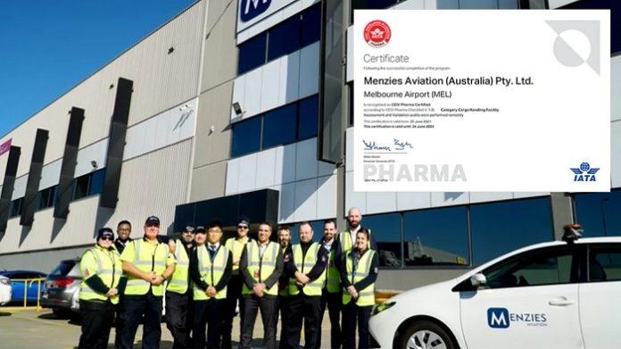 Menzies Cargo progresses with new CEIV Pharma accreditation