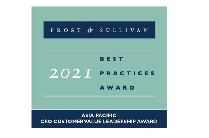 Avance Clinical Awarded Frost & Sullivan 2021 Asia-Pacific CRO Best Practices Award for Customer Value Leadership