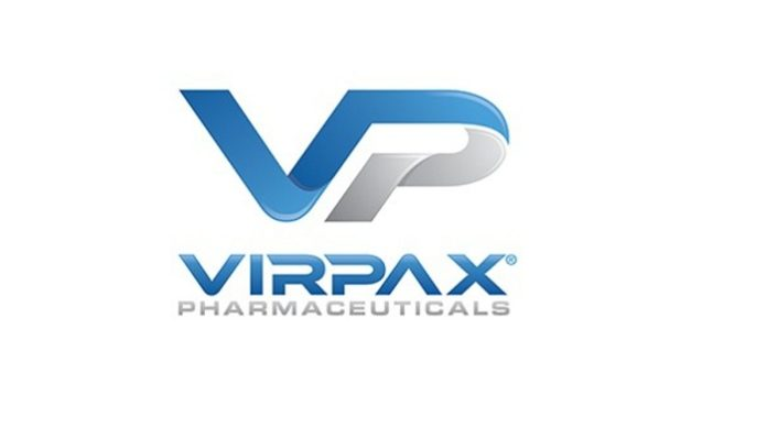 Virpax Inks MMS019 Manufacturing and Supply Agreement