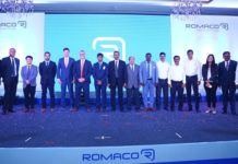 official opening of the Romaco Sales & Service Centre in India