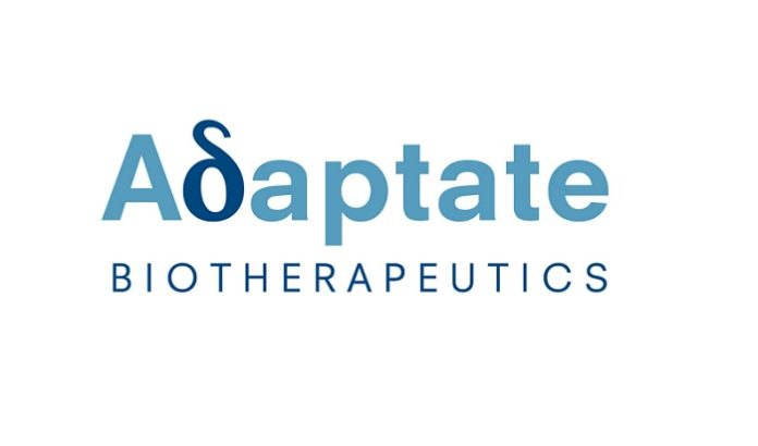 Adaptate Biotherapeutics formed to develop antibody-based therapies that modulate gamma delta T-cells