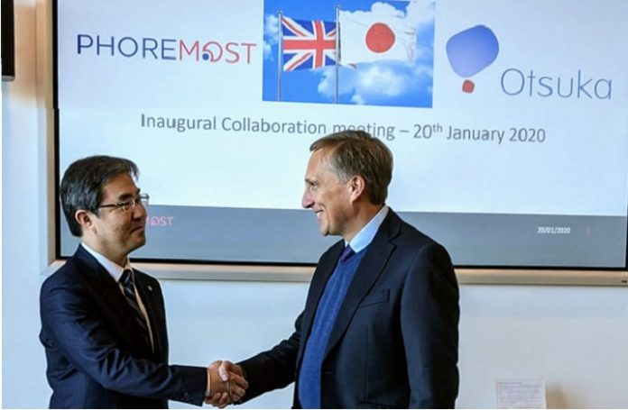 PhoreMost enters multi-project drug discovery collaboration with Otsuka Pharmaceutical