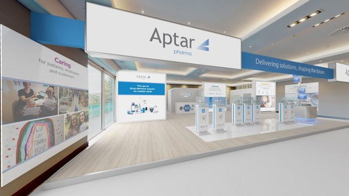 Aptar Pharmato Unveil its State-of-the-Art Virtual Booth at CPhI Festival of Pharma