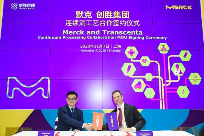 Transcenta and Merck Announce a Strategic Collaboration at CIIE to Advance Continuous Biomanufacturing