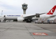 Turkish Cargo carries COVID-19 vaccines via its cross-continental air bridge