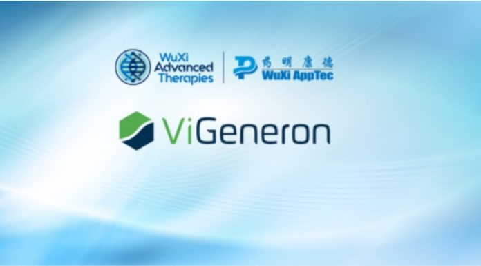 ViGeneron and WuXi AppTec Enter Strategic Manufacturing Partnership for Next-Generation Ophthalmic Gene Therapy