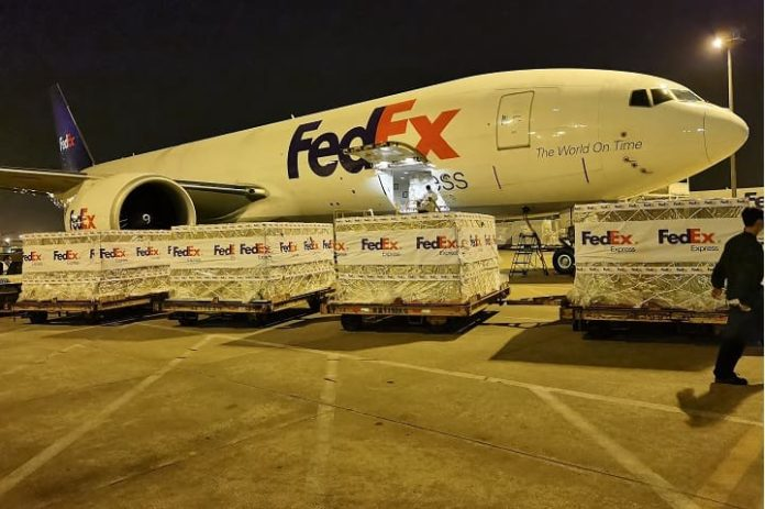 FedEx delivers critical healthcare supplies to India to support the fight against COVID-19