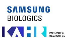 Samsung Biologics and KAHR Medical Announce Development and Manufacturing Agreement for Cancer Immunotherapy Drug Candidate