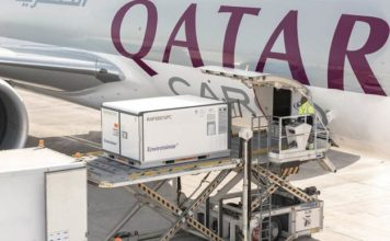 Qatar Airways Cargo Offers its Customers Envirotainers Innovative Releye RLP containerfor Pharma Transport