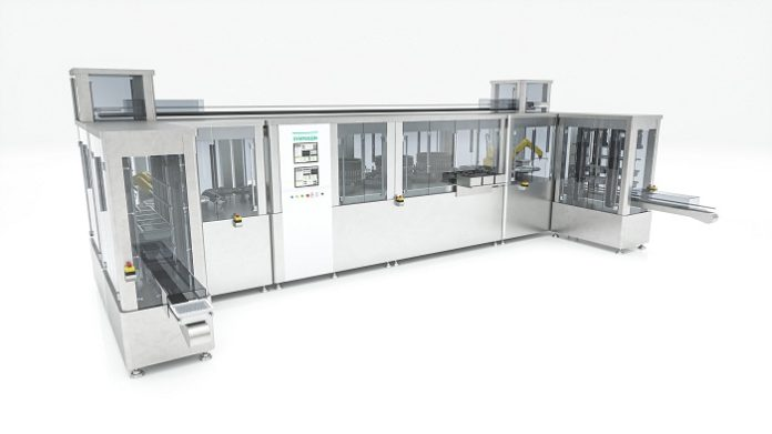 Syntegon introduces fully integrated syringe inspection line with AI technology