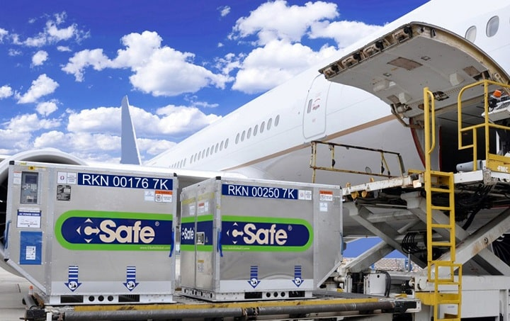 Lufthansa Cargo clears the new CSafe RAP Temperature-Controlled Container for departure